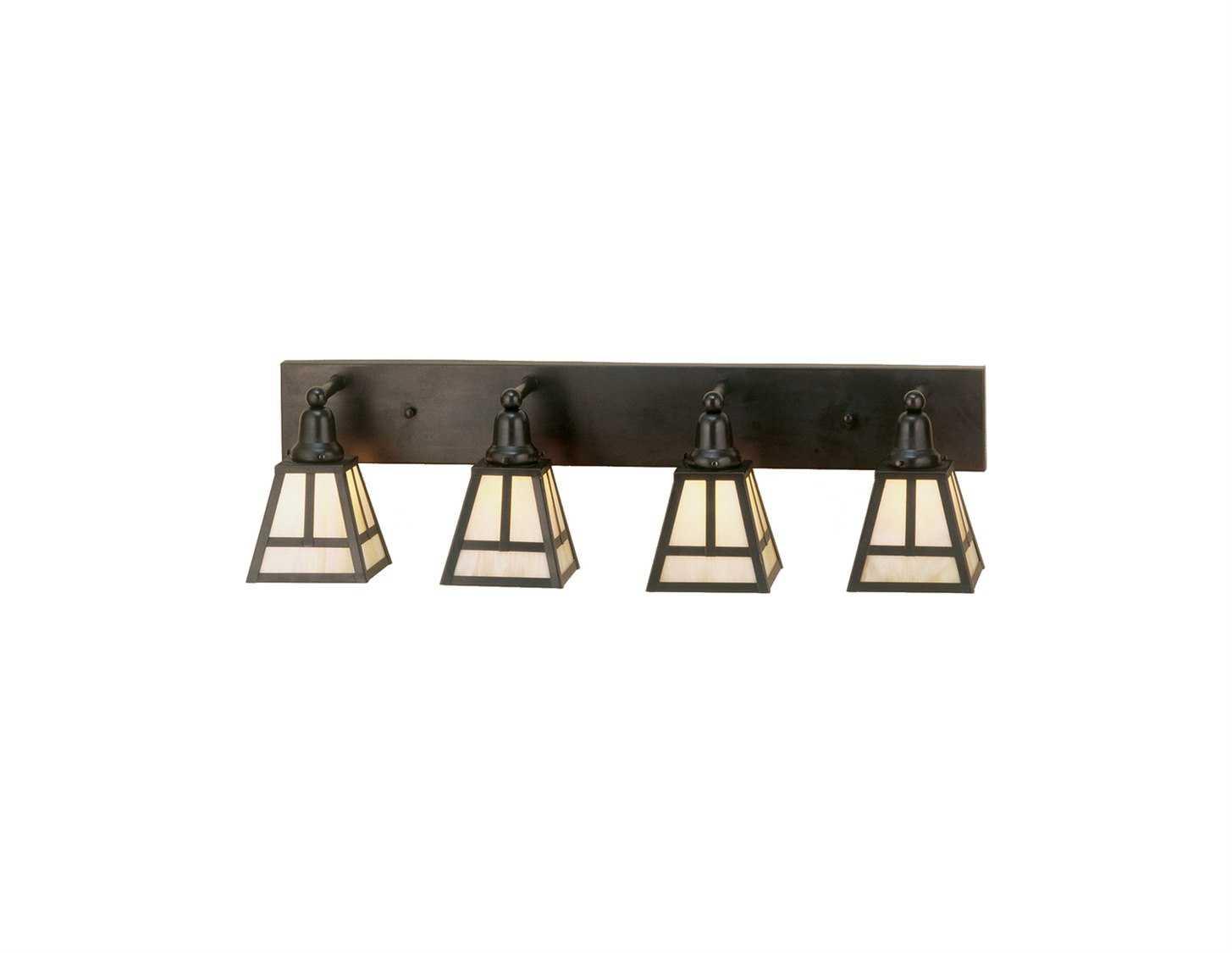 Meyda Tiffany T Mission Four-Light Vanity Bar Light 52451