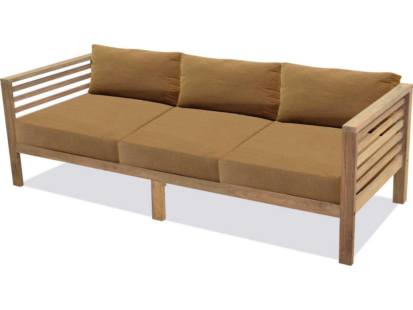 Forever Patio Anaheim Reclaimed Teak 3 Seater Sofa Fp Ana 3s Tk