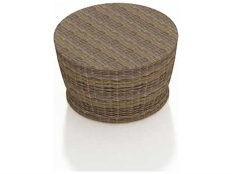 Forever Patio Cypress Wicker 34 Round Chat Table