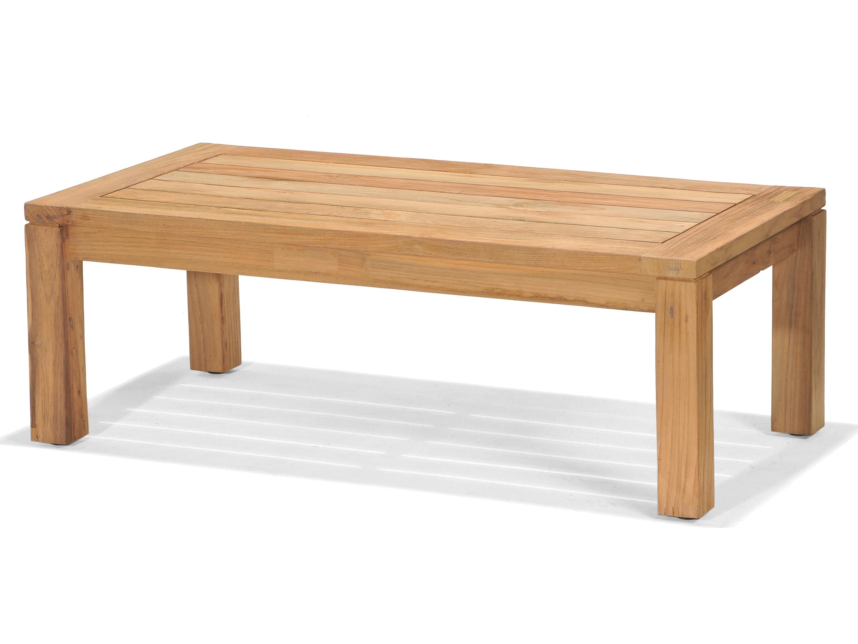 Forever Patio Lancaster Reclaimed Teak 47 X 24 Coffee Table Fp Lan Ct Tk