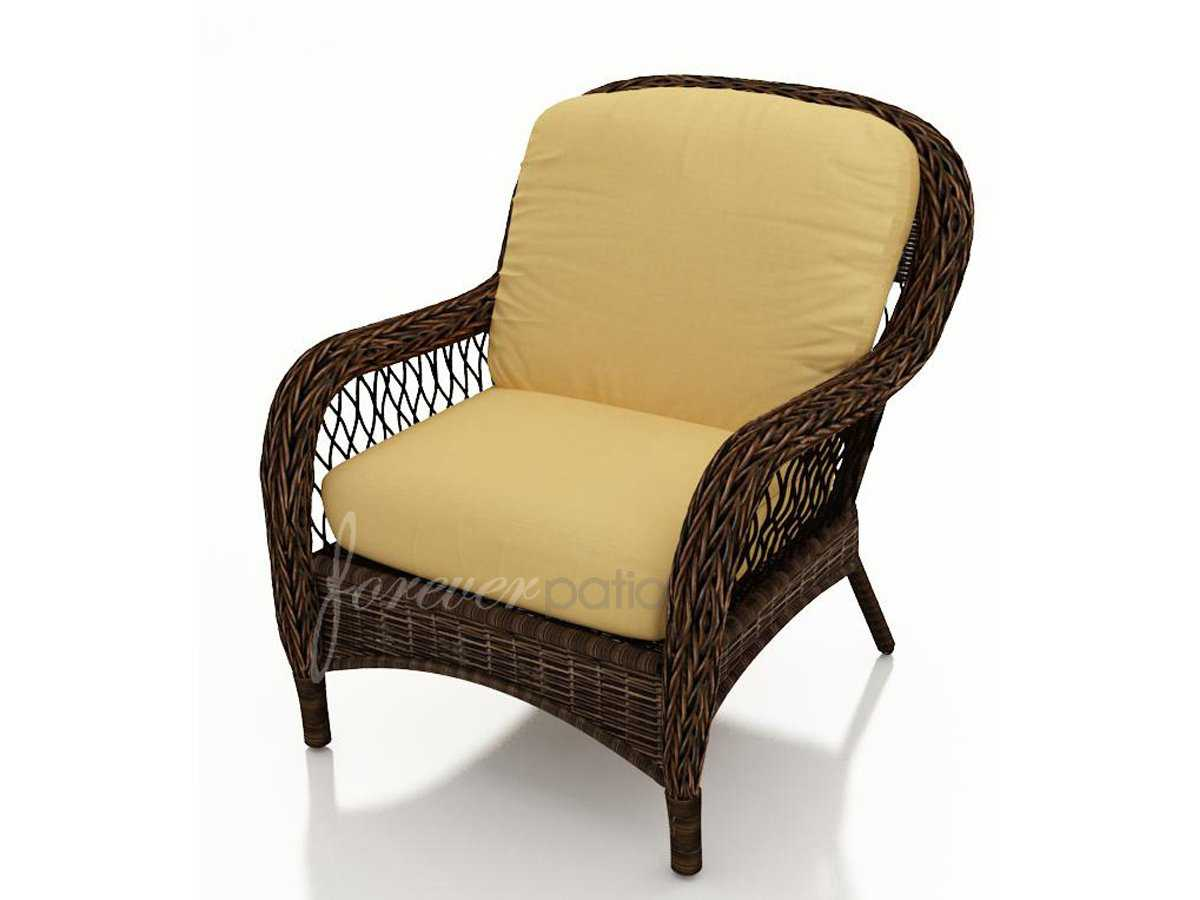 Marvelous photograph of  .com: Leona Wicker Cushion Arm Patio Lounge Chair FP LEO LC MC with #997A32 color and 1200x900 pixels