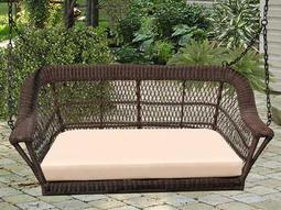 NorthCape Manchester Wicker Cushion Swing