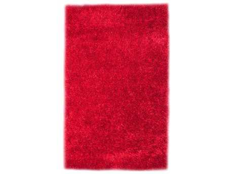 Noble House Codimuba Modern Red Hand Made Synthetic Solid 5' x 8' Area Rug - CODI710258