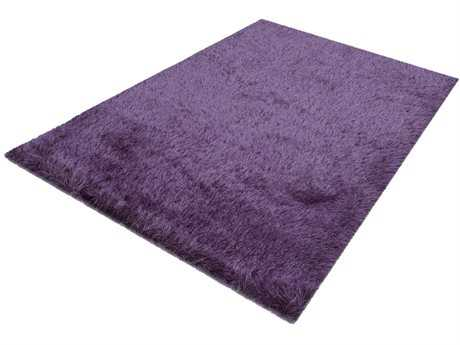 Noble House Milan Shag Purple Other Synthetic Solid 5' x 7' Area Rug - MIL380657