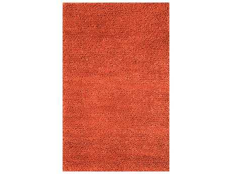 Noble House Spectra Modern Red Hand Made Wool Solid 3'6
