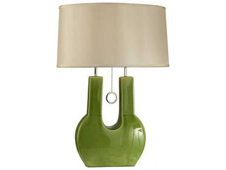 Nova Emperor Green Table Lamp
