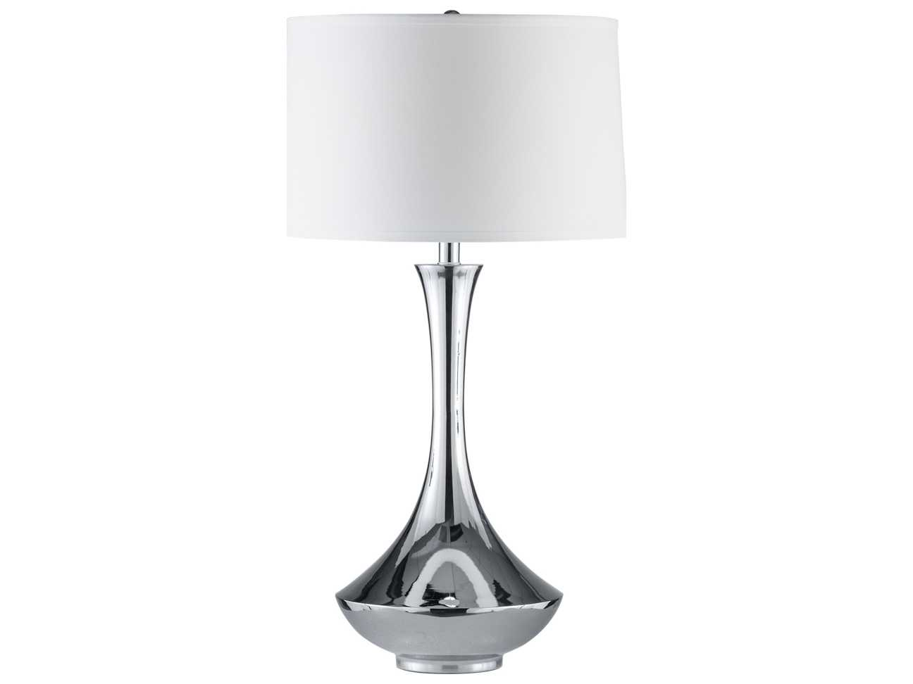 nova aladdin brushed nickel table lamp 1010482. Black Bedroom Furniture Sets. Home Design Ideas