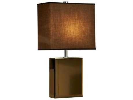 Nova Hepburn Brown & Chrome Table Lamp