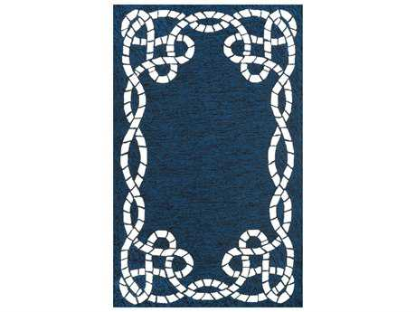 nuLOOM Outdoor Transitional Hand Made Synthetic Graphic 7' 6'' x 9' 6'' Area Rug - AWVE09A-76096