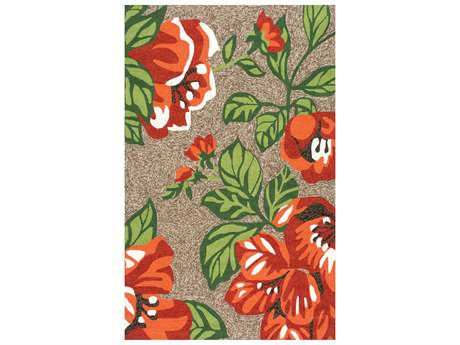 nuLOOM Michaels Transitional Hand Made Synthetic Floral/Botanical 5' x 8' Area Rug - AWVE24A-508