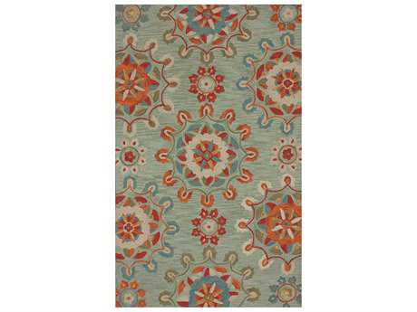nuLOOM Barcelona Transitional Hand Made Synthetic Floral/Botanical 5' x 8' Area Rug - BHBC33A-508