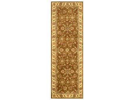 nuLOOM Legacy Traditional Yellow Hand Made Wool Southwestern Area Rug- ESLE1F-2608-RUN
