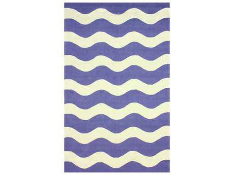 nuLOOM Santa Fe Modern Hand Made Synthetic Stripes 5' x 8' Area Rug - HJSAN14A-508