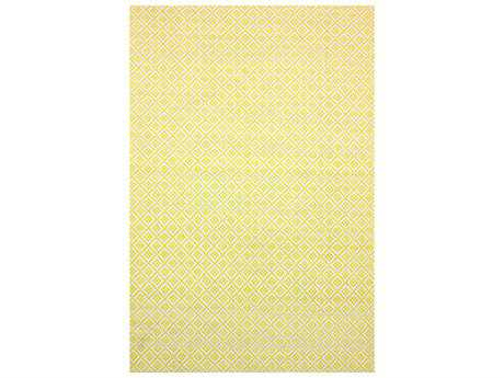 nuLOOM Cottage Modern Yellow Hand Made Cotton Geometric 5' x 8' Area Rug - HMCO5C-508