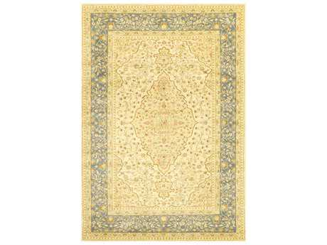 nuLOOM Sahar Traditional Yellow Machine Made Synthetic 7' 10'' x 11' Area Rug - KKZG03B-710011