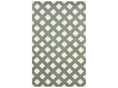 nuLOOM Filigree Modern Hand Made Wool Geometric 5' x 8' Area Rug - SBFG81B-508