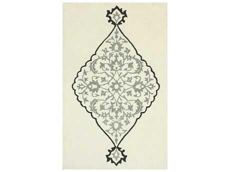 nuLOOM Modella Transitional Hand Made Wool Damask 5' x 8' Area Rug - SEMA87A-508