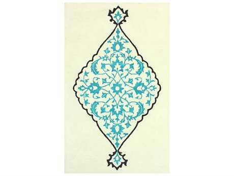 nuLOOM Modella Transitional Hand Made Wool Damask 5' x 8' Area Rug - SEMA87B-508