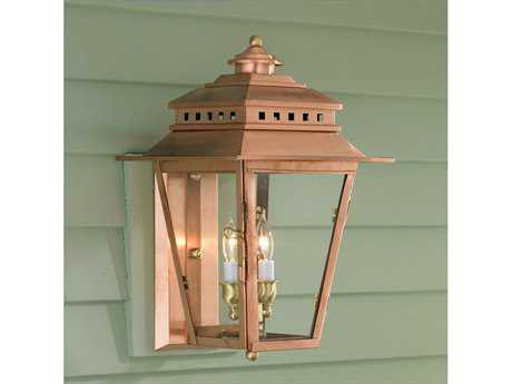 Norwell New Orleans Copper Two-Light Outdoor Wall Light