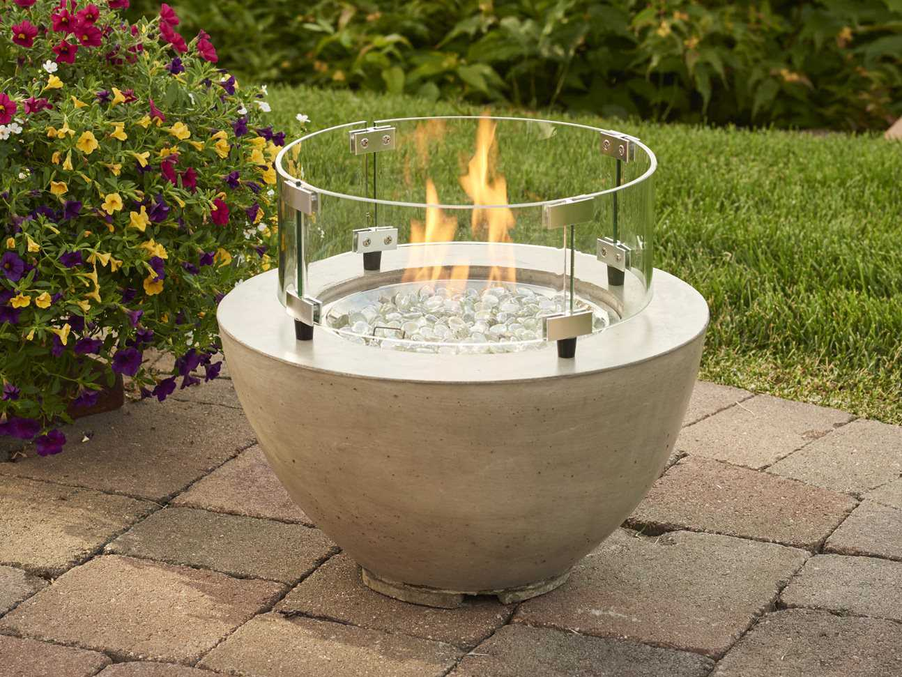 Outdoor Greatroom 19 39 39 Round Cove Fire Pit Table Cv 12