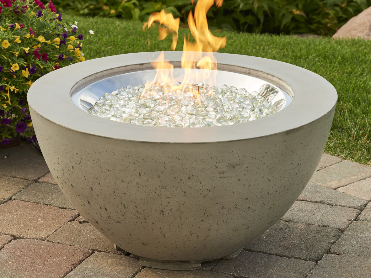 Outdoor Greatroom Round Cove Fire Pit Table Cv 20