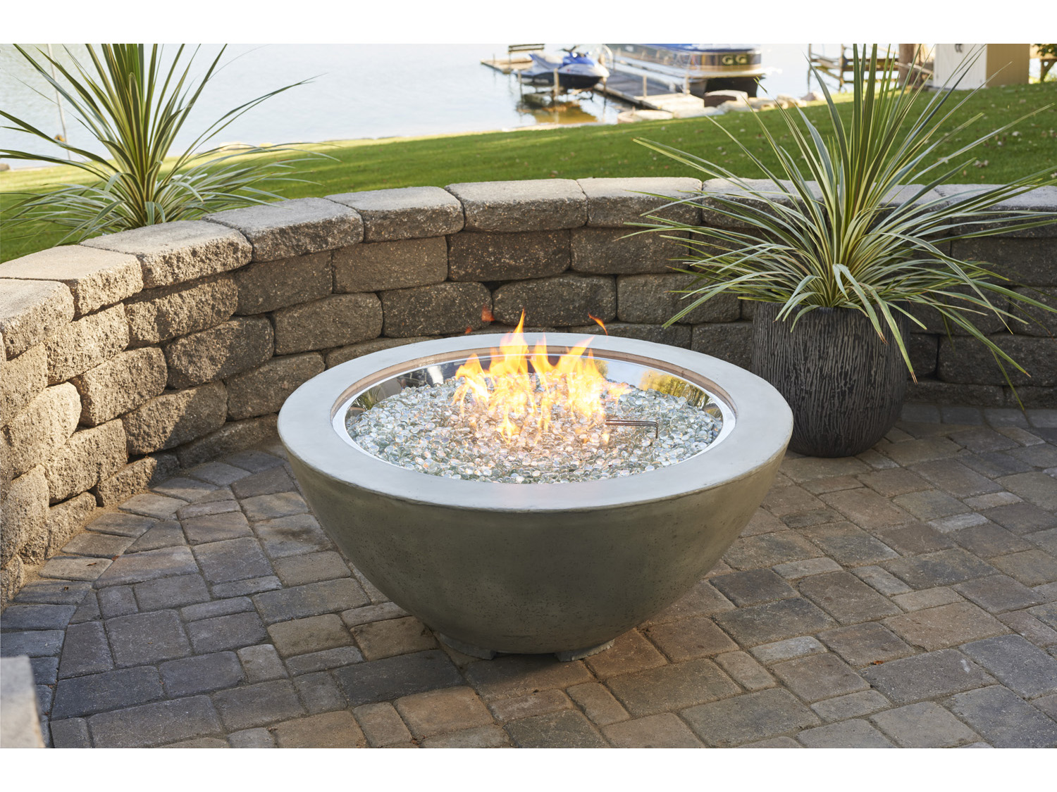 Outdoor Greatroom 42 Round Cove Fire Pit Table Cv 30