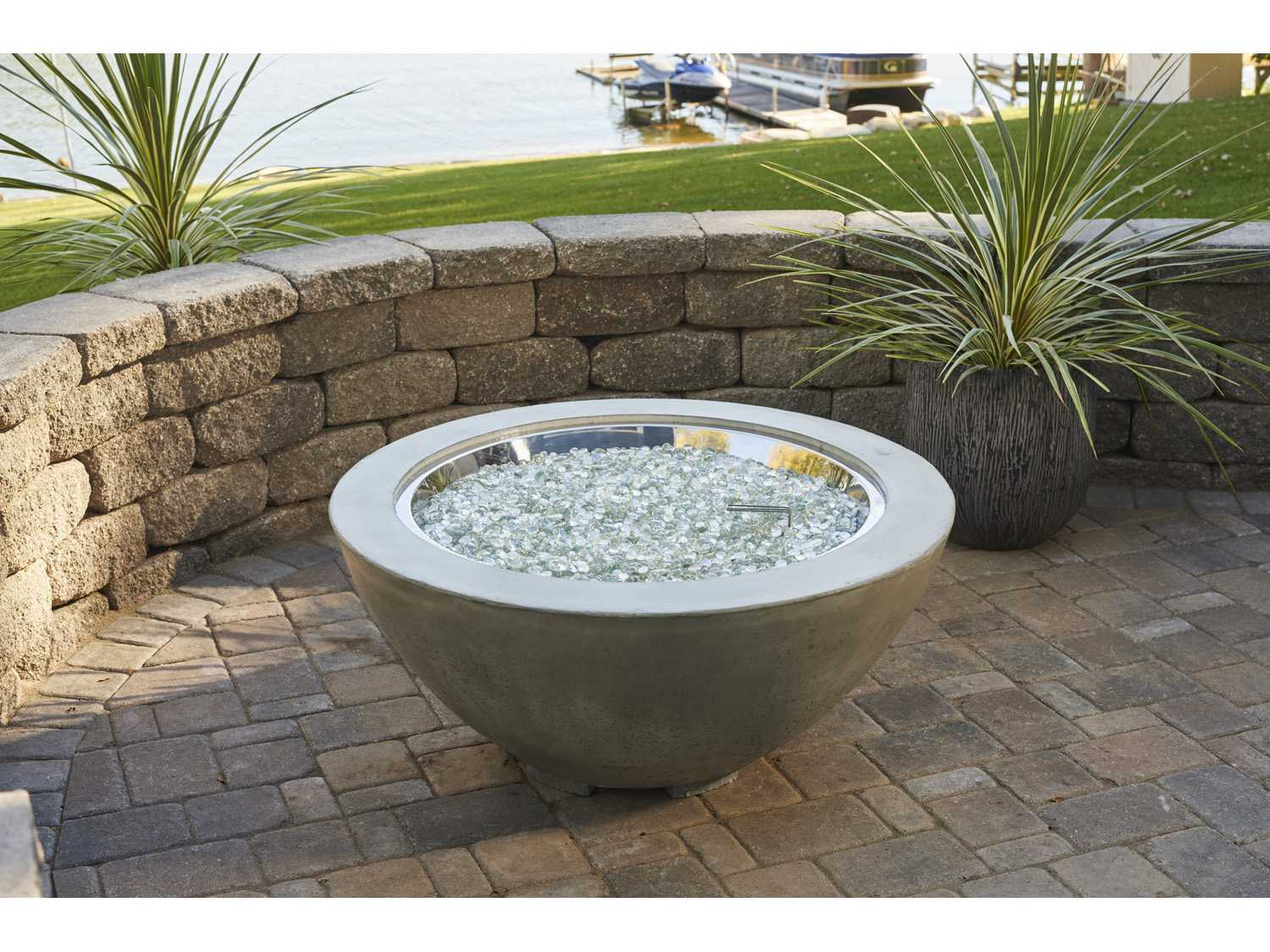 Outdoor Greatroom 30 39 39 Round Cove Fire Pit Table Cv 30