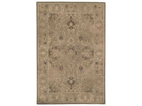 Oriental Weavers Chloe Traditional Brown Machine Made Synthetic Floral/Botanical 5'3