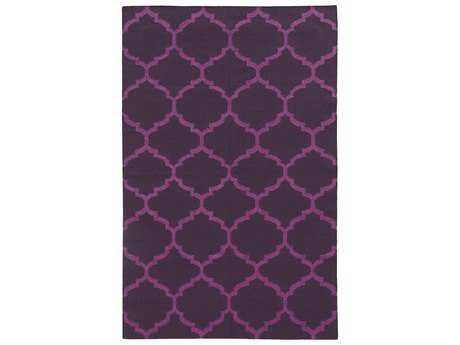 Oriental Weavers Pantone Universe Matrix Modern Purple Hand Made Wool Moroccan 3'6