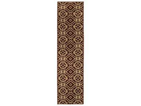 Oriental Weavers Stratton Transitional Red Machine Made Synthetic Geometric Area Rug- 5882B-RUN