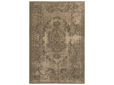 Oriental Weavers Chloe Transitional Beige Machine Made Synthetic Floral/Botanical 3'10
