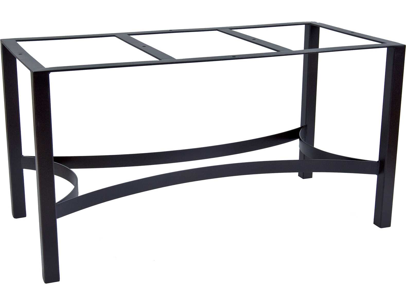 Ow Lee Palazzo Wrought Iron Dining Table Rectangular Base Ow1dt07