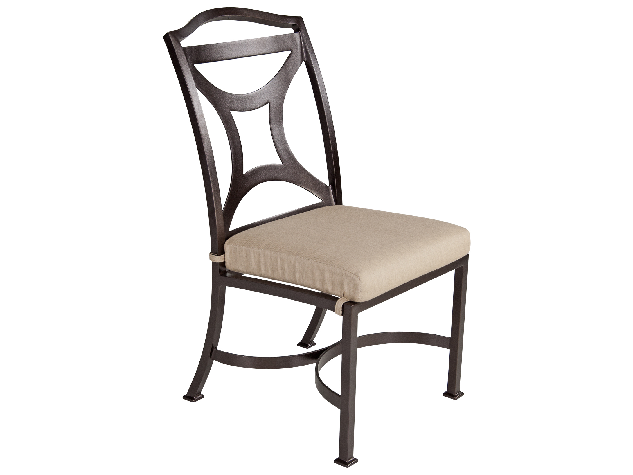 Iron Dining Chairs ~ Wrought iron and wood dining chairs