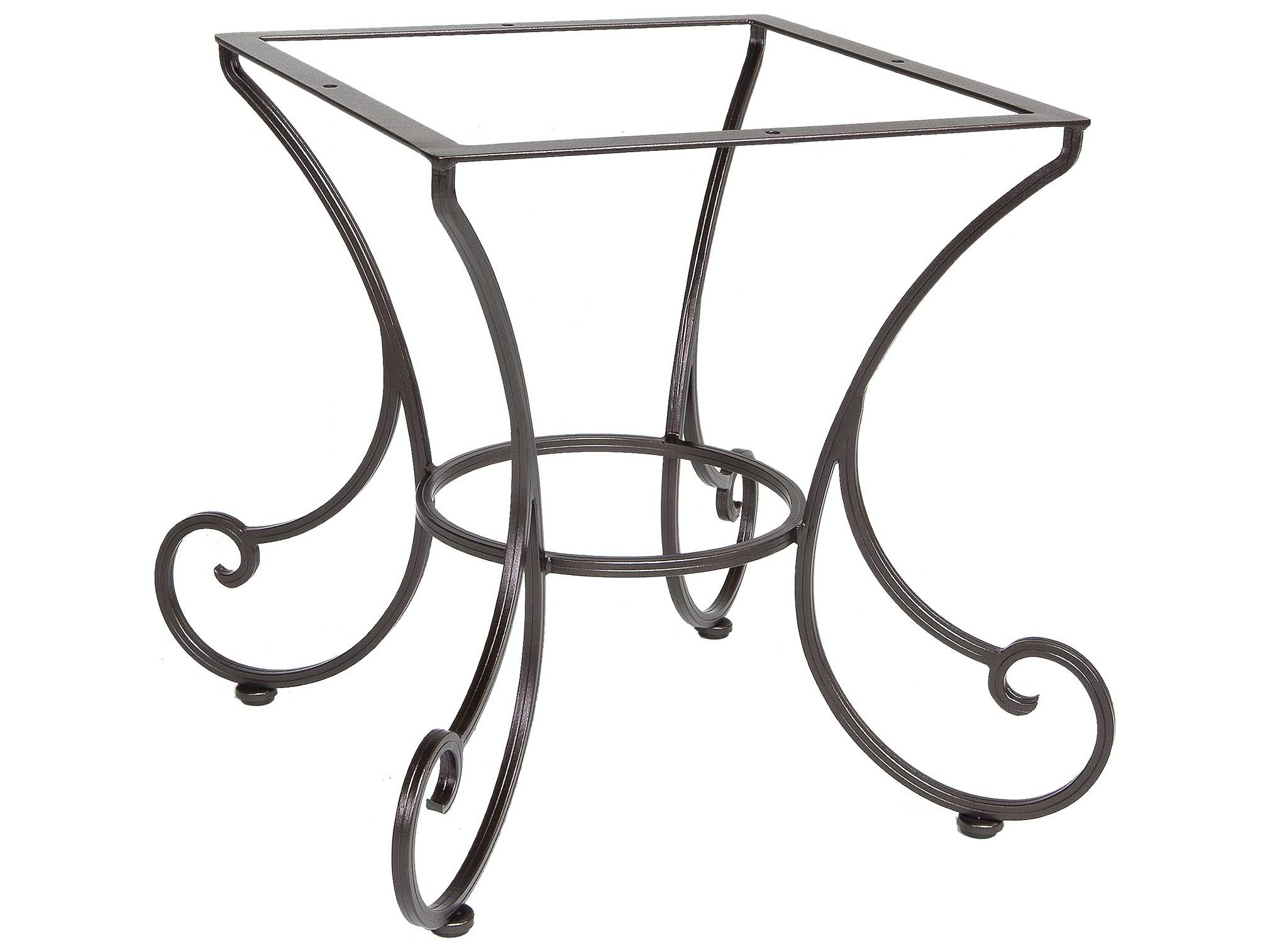 OW Lee Bellini Wrought Iron Dining Table Base 41 DT03