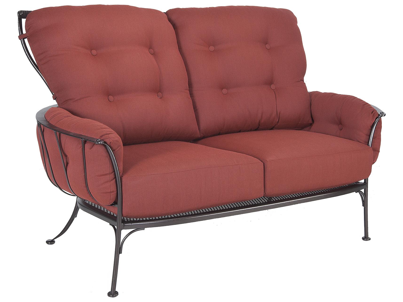 Ow Lee Monterra Wrought Iron Two Seat Sofa 427 2s