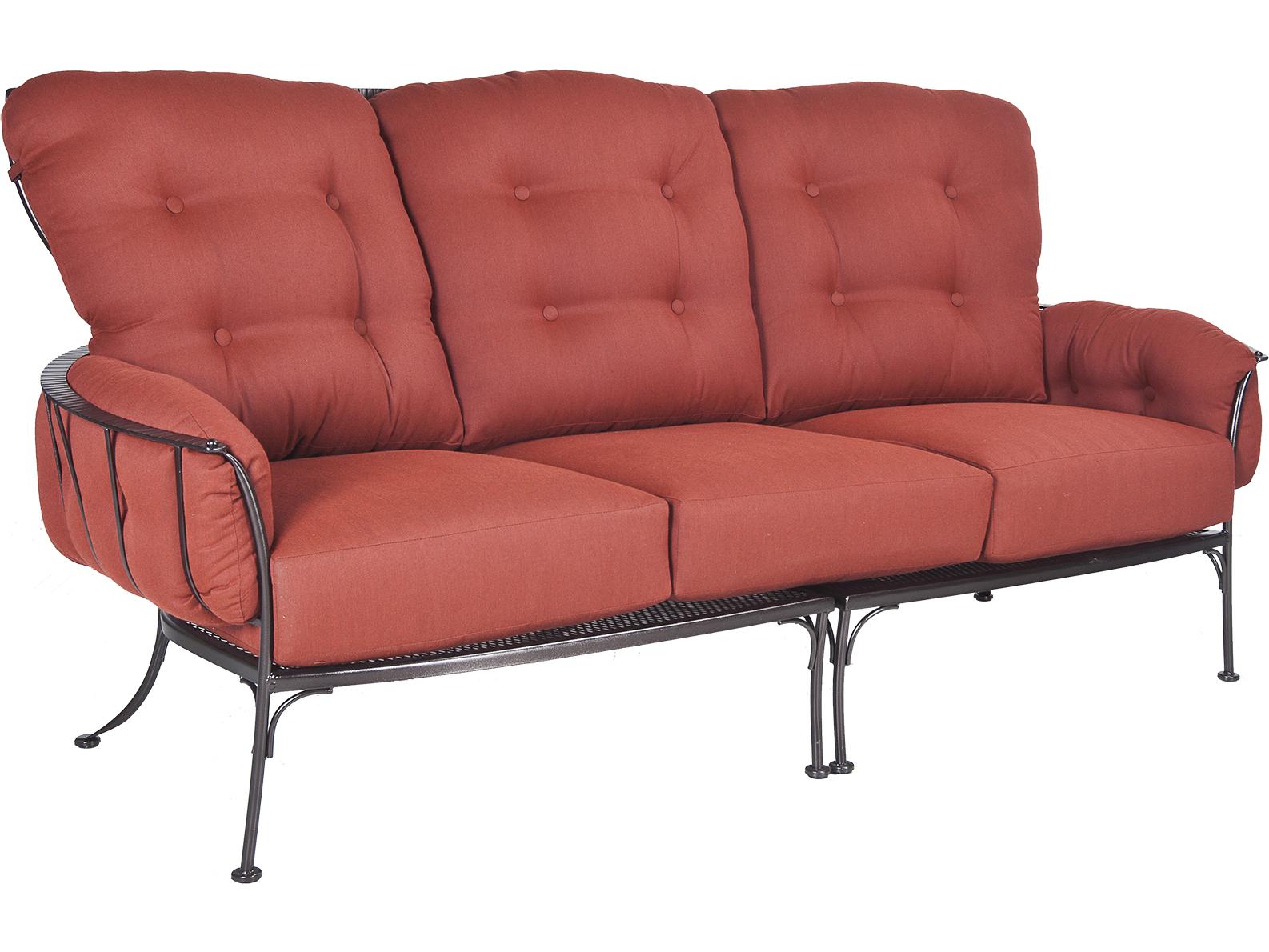 Ow Lee Monterra Wrought Iron Sofa 427 3s