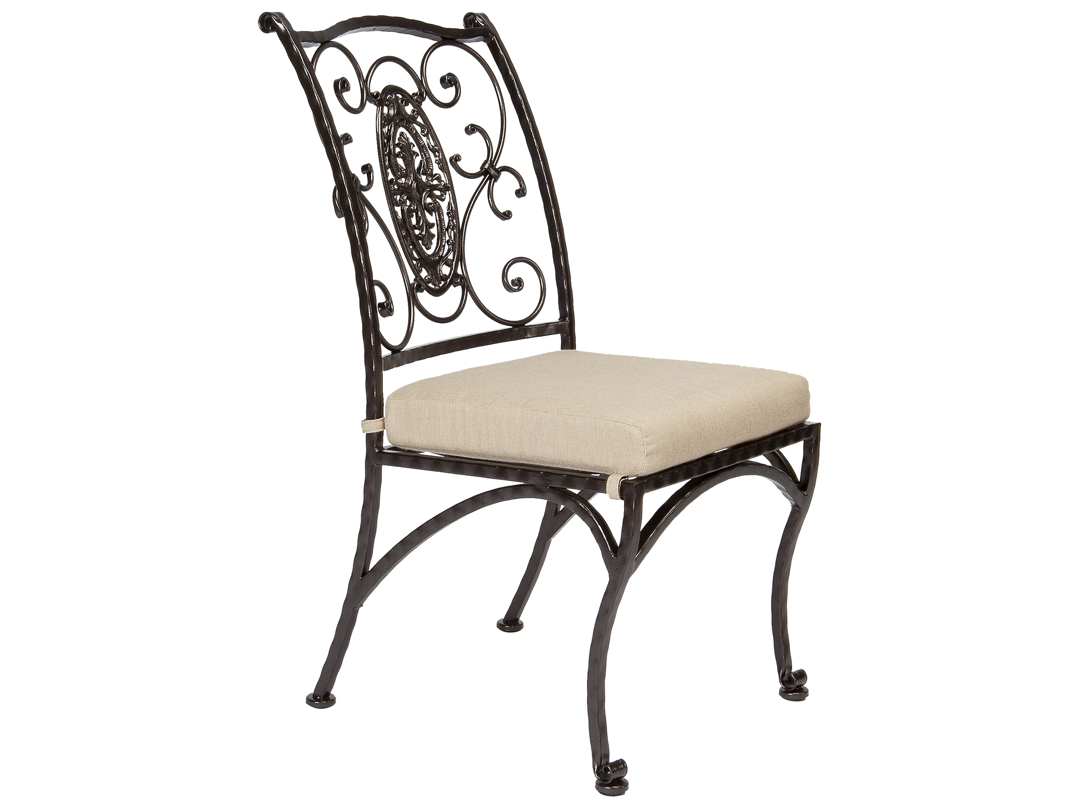 OW Lee San Cristobal Wrought Iron Dining Side Chair 651 S : OW651S2zm from www.patioliving.com size 2103 x 1578 jpeg 149kB