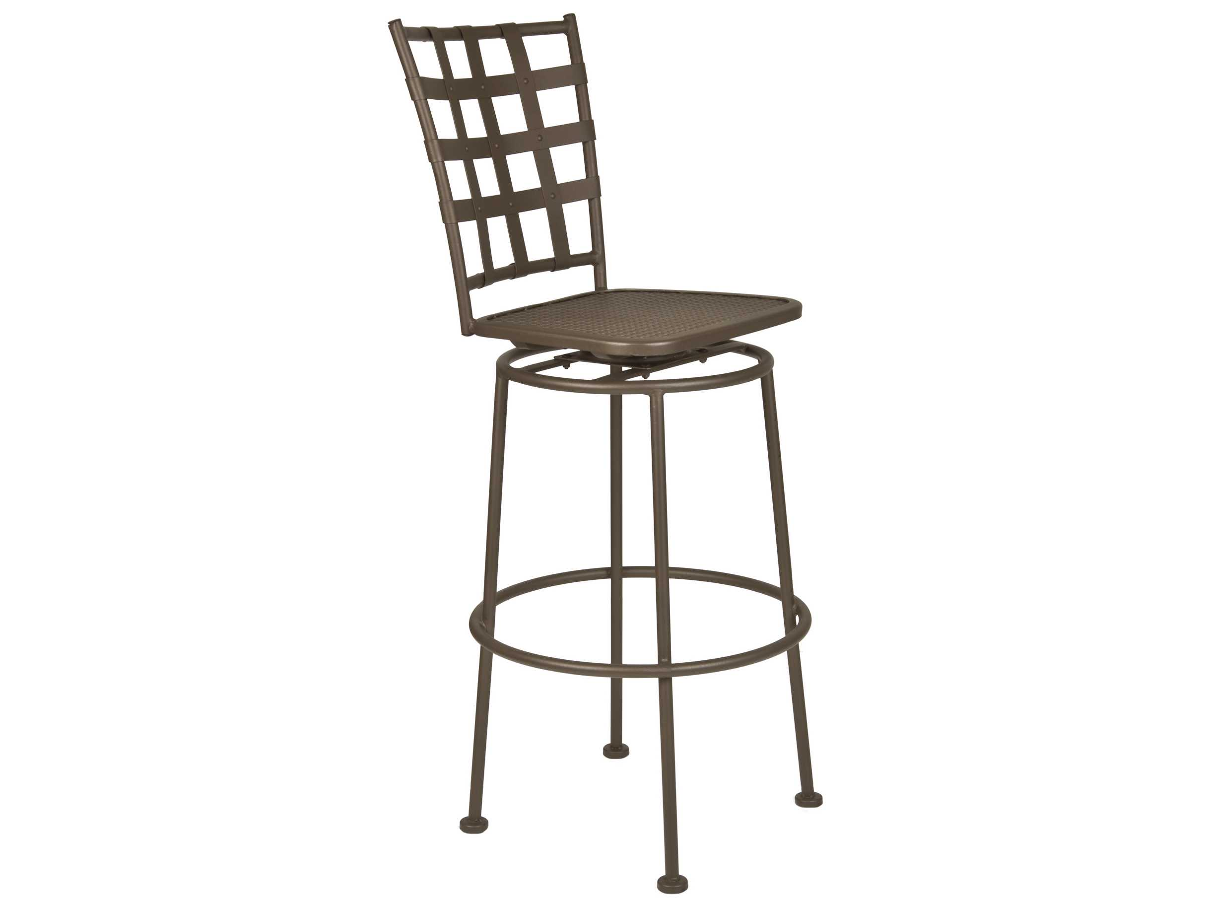 Ow lee casa wrought iron bar stool sbs