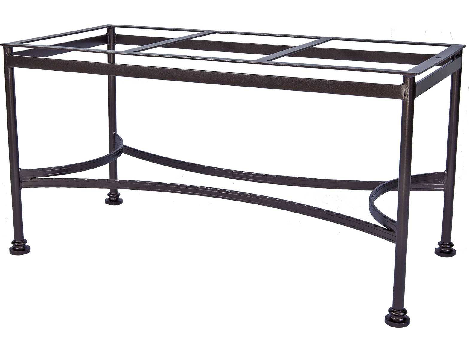 ow lee classico wrought iron dining table base 9 dt07. Black Bedroom Furniture Sets. Home Design Ideas