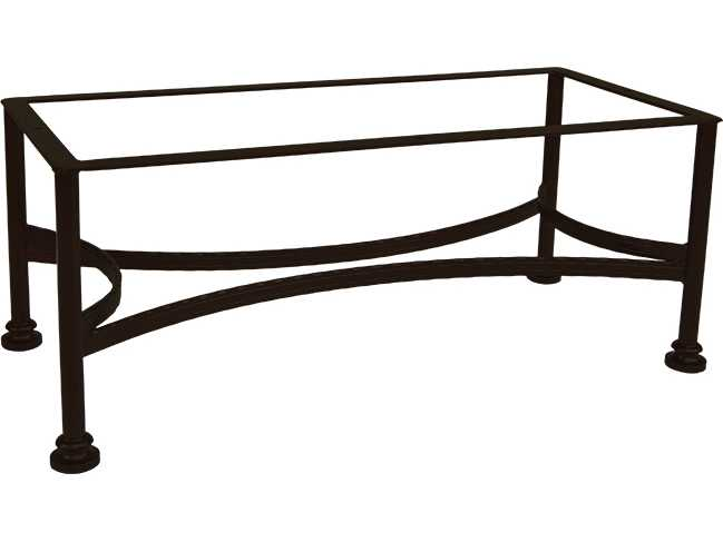 Ow lee classico wrought iron occasional table base 9 ot05 for Outdoor table bases wrought iron
