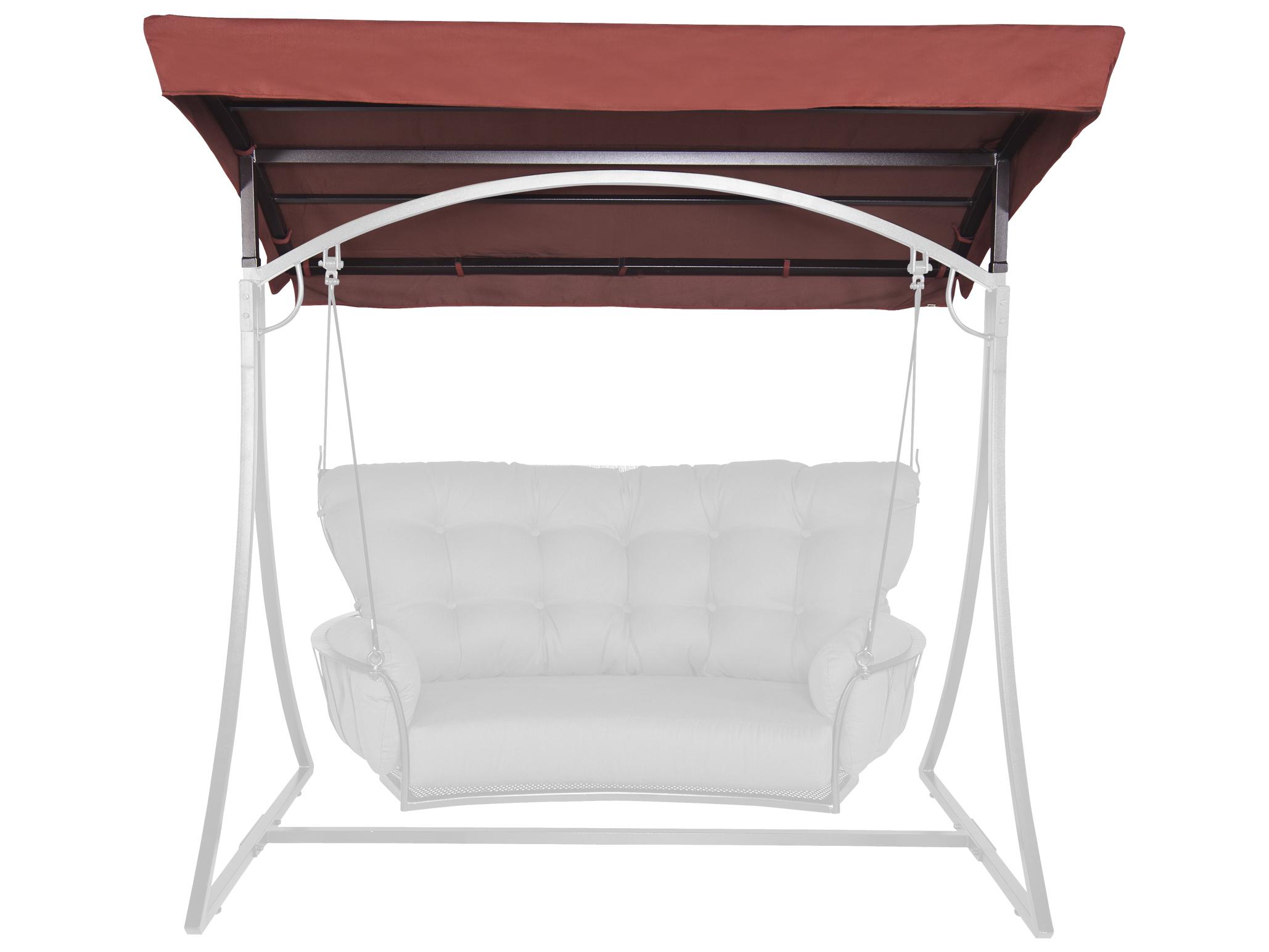 OW Lee Monterra Wrought Iron Cushion Patio Swing