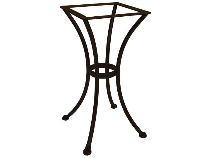 OW Lee Wrought Iron Round Dining Table Base | DT01-BASE