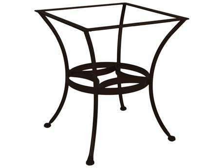 Ow Lee Bases Wrought Iron Round Patio Table Base Owdt03base