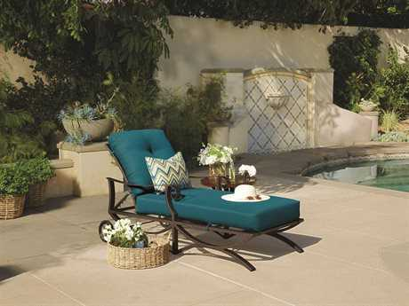 OW Lee Luna Wrought Iron 1 Person Cushion Conversation Patio Lounge Set