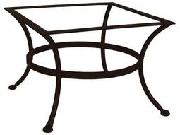 OW Lee Wrought Iron Round Coffee Table Base 25W X 25D X 17.5H List Price  432.00 FREE SHIPPING $367.20
