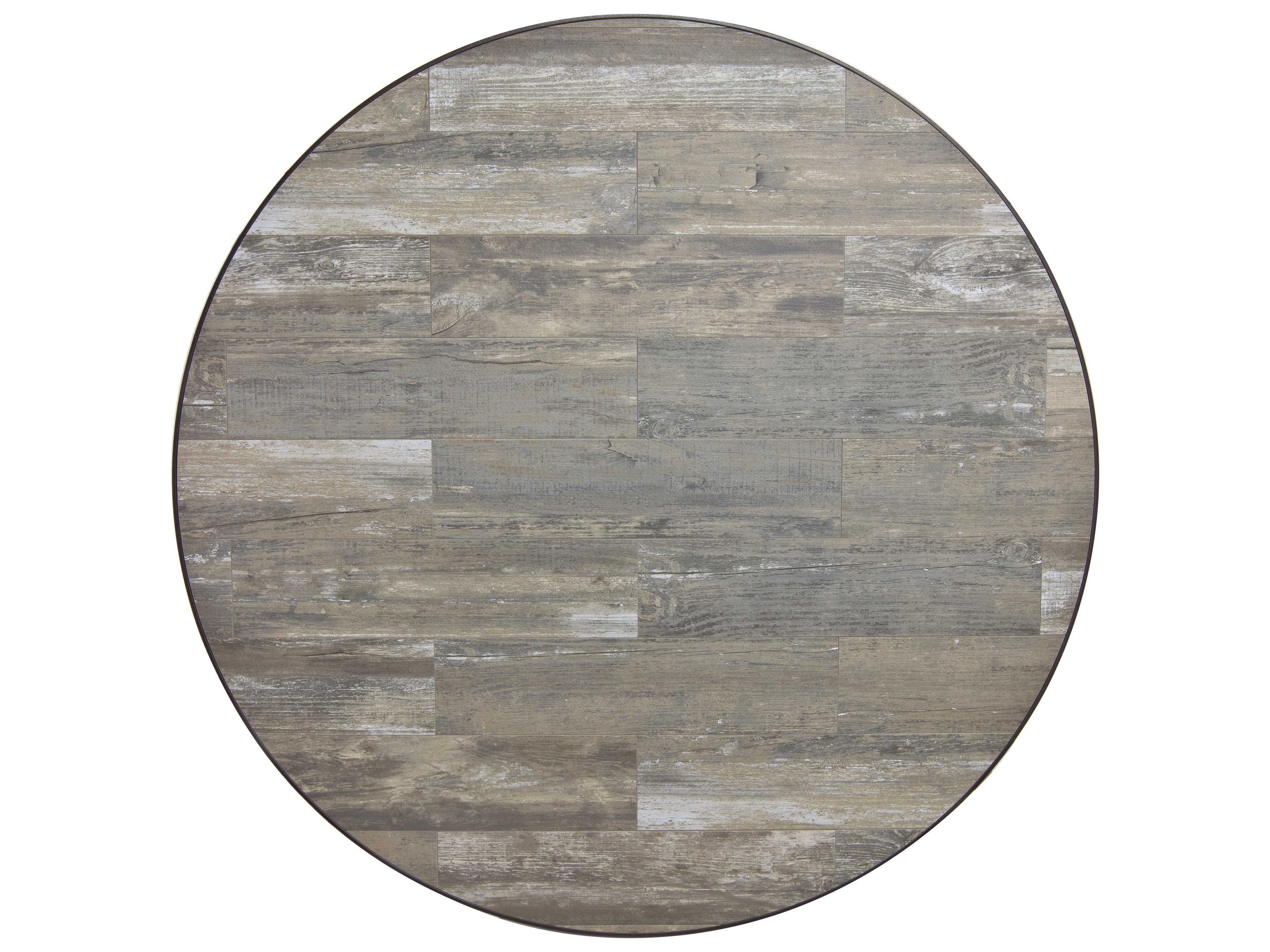 OW Lee Porcelain Reclaimed 54 X 1.5 Round Table Top