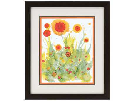 Paragon Baynes Poppy Whimsy II Giclee Painting