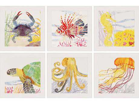 Paragon Two Can Art Under The Sea Painting (Six-Piece Set)
