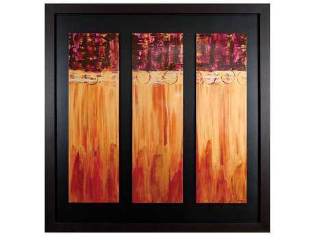 Paragon Kinder Harris Jardine Ribbons Of Glass Painting