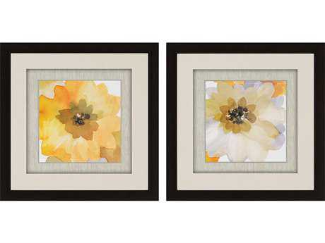 Paragon Jacobs Ginger Gold Shadow Box Wall Art (Two-Piece Set)
